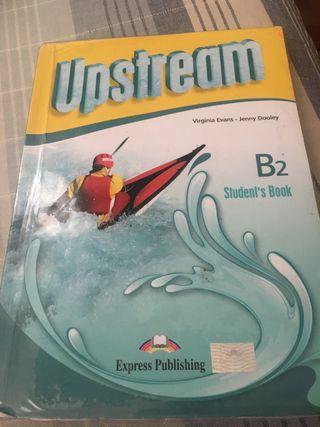 Libro de inglés upstrean b2