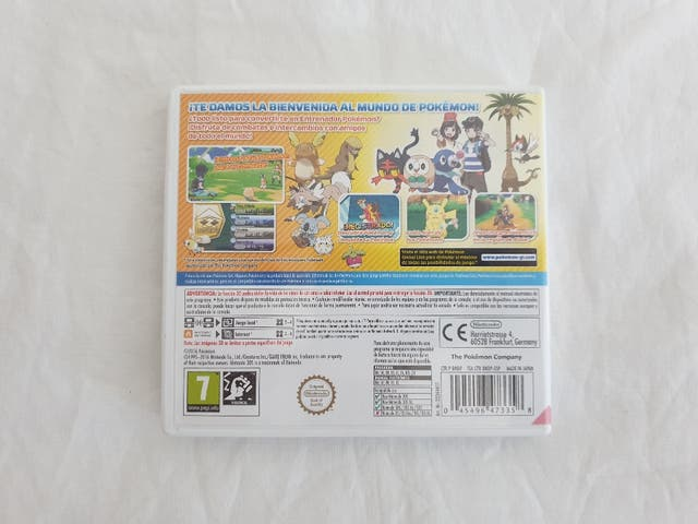 Pokemon Sol Nintendo 3DS