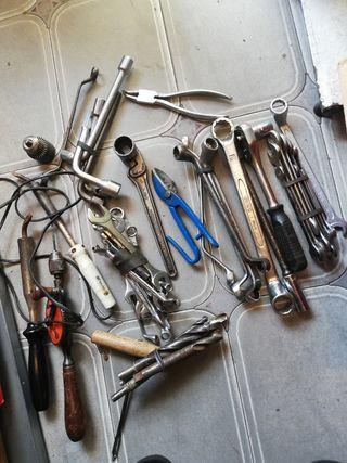 lote de herramientas llaves vanadium