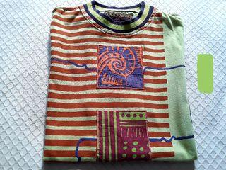 Camiseta oversize surfera, vintage