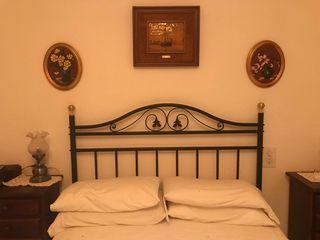 cabezal cama hierro forjado para cama de 135cm