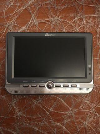 TV LCD color portátil + TDT (poco usado)