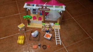 Granja barriguitas + muñeca