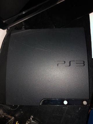 PS3 + juegos + peliculas blue ray