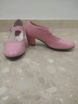 De Barcelona Flamenco Mano Segunda Wallapop En Zapatos 7gYvby6f
