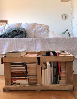 Caja de madera de palet