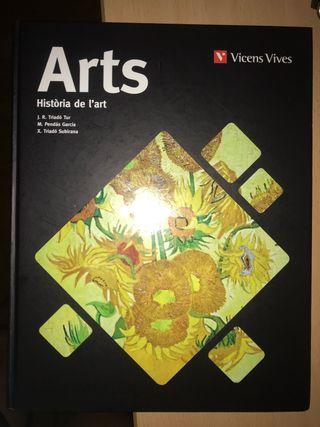 Libro de Historia del Arte.