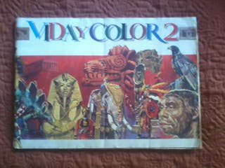Vida y Color 2 Album de cromos completo