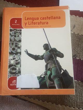 Libro 2°Bach Lengua castellana y literatura