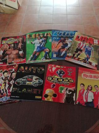 Varios álbumes
