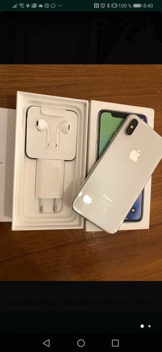 iphone x 256gb impecable