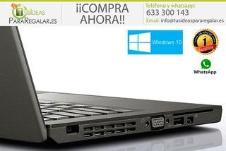 Portátil Lenovo ultrabook X240, i7 / SSD / Cam /