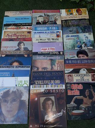 Colección discos de vinilo 109 discos.