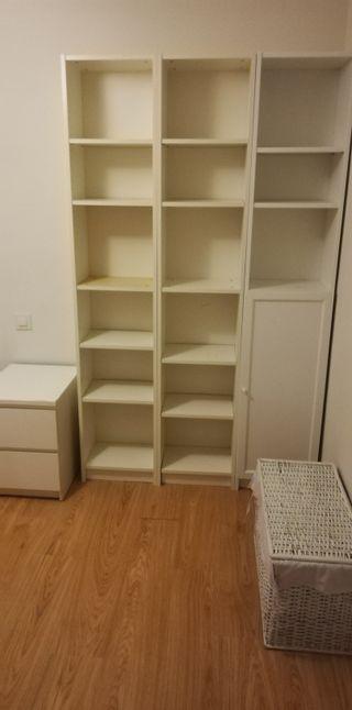 3 Estanterias de Ikea ( Billy ) 200x40x28