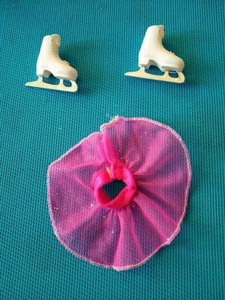 patines hielo Barbie