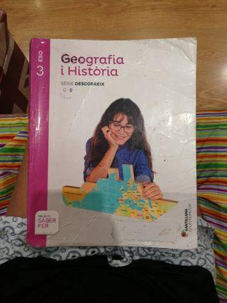 libro geografía I historia 3 eso