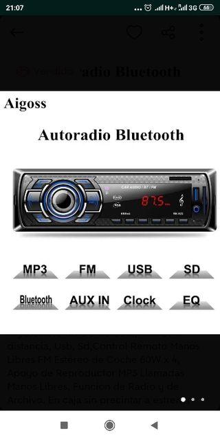 AUTORADIO BLUETOOTH PRECINTADO A ESTRENAR