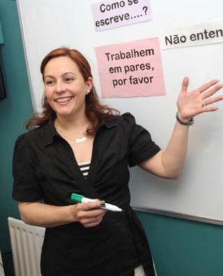 Profesora de portugués