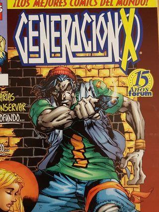 Comics Marvel Generacion X