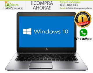 Portátil Hp EliteBook 745G2, 8Gb / Cam / SSD / Win