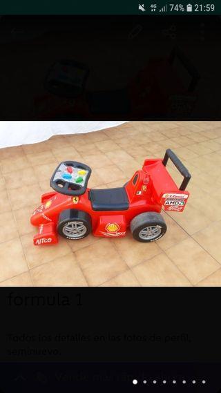 correpasillos Ferrari formula 1