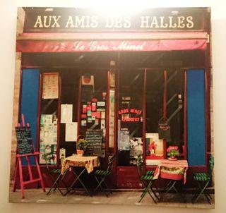cuadro decorativo AUX AMIS DES HALLES
