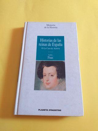 Libro. Historias De Las Reinas De España. 3×2.