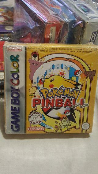pokemon pinball precintado