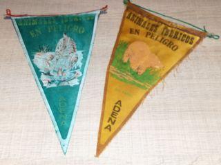 DOS banderines ADENA.