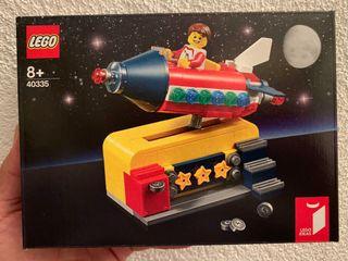 Lego 40335 Paseo cósmico - Space Rocket Ride