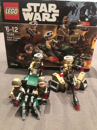 Pack 4 figuras i 2 naves lego STAR WARS