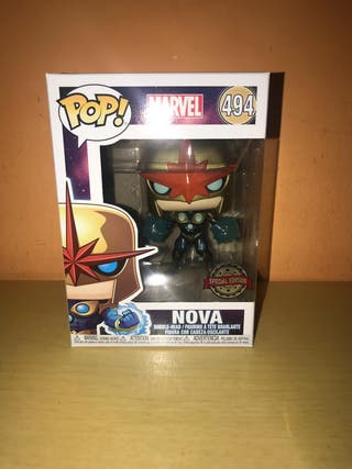 Funko Pop Nova Metalizado exclusivo