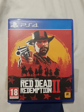 Red Read Redemption 2 PS4