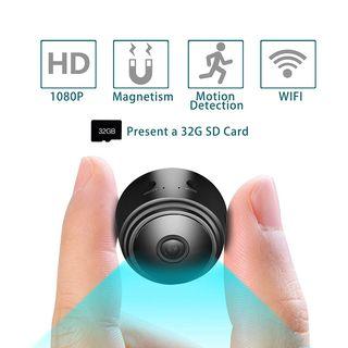 Mini Cámara Espía 1080p WIFI + tarjeta SD 32 nueva