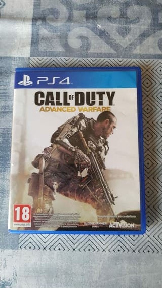 juego PS4 calle if Duty avance Warfare