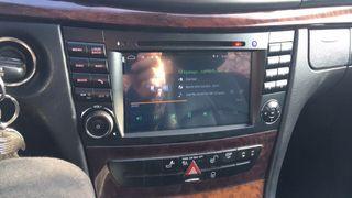 Radio navegador Mercedes