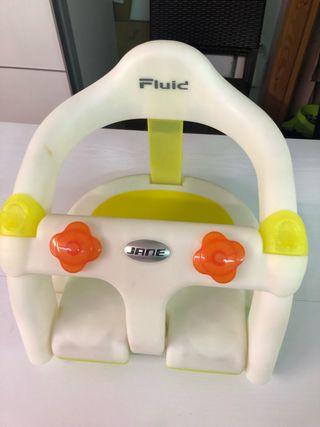 Asiento seguridad baño para bebé