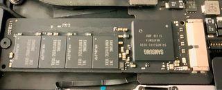 Ssd m2 jet Drive MacBook Pro original 256gb