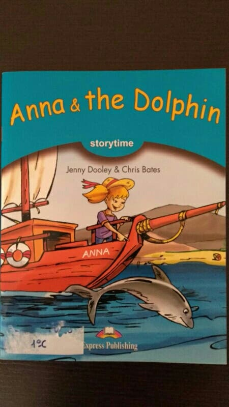 Libro Anne and the Dolphin