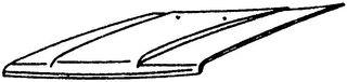 TOYOTA HILUX LN55/56 84-88 CAPOT