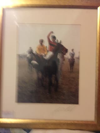 Signed Jonjo O Neil Photograph
