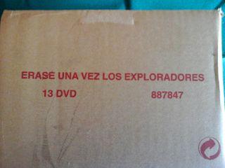 Erase una vez, Los Exploradores DVD.