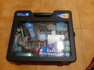 Microscopio sin estrenar