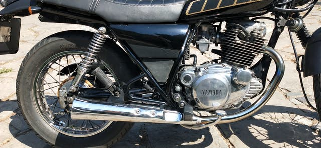Yamaha SR250 Scrambler cafe racer