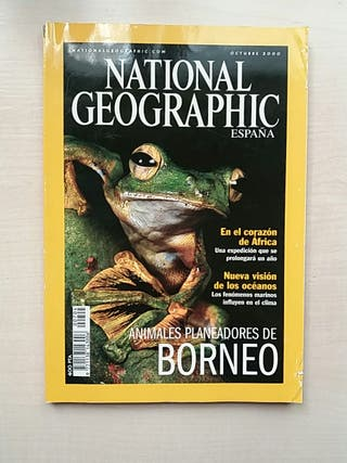 Revista National Geographic Octubre 2000.