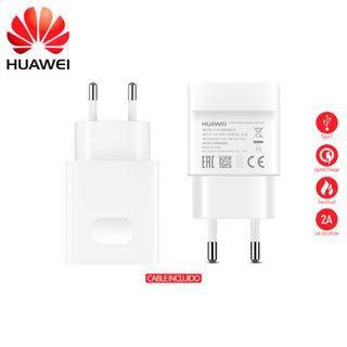 Cargador Huawei Oficial AP32 con Cable Tipo C