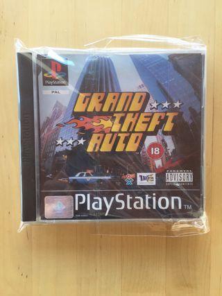 Grand Theft Auto - GTA para PS1 - coleccionismo