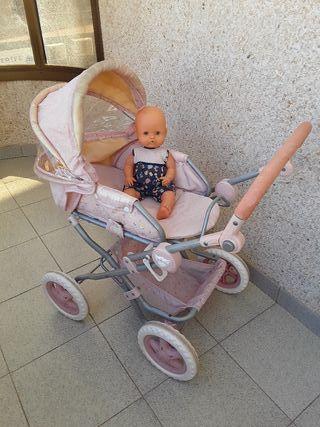 carrito de muñecas GRANDE y nenuco
