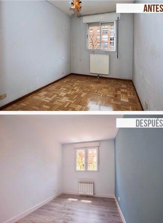 Instalaciones de parquet , suelo laminado