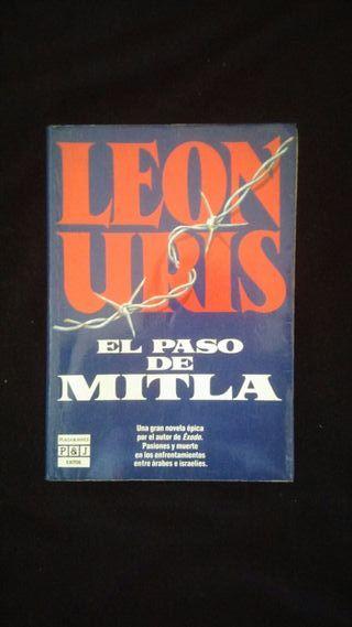 Libro: El paso de Mitla - Leon Uris
